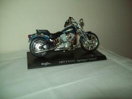 "Harley Davidson (1997 FXSTS Springer Softail) ""Maisto""  Scala 1/18 - Moto"