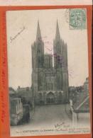 CPA  50  COUTANCES  La Cathédrale   1903  Précurseur  V 2016 1765 - Coutances