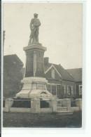 02 AUBENCHEUL Carte Photo Monument Aux Morts - Other Municipalities