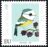 Isle Of Man IOM 2016 - Matt Sewell's Birds - Blue Tit - Non Classificati