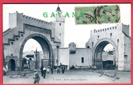 TUNISIE - TUNIS - Porte Bal-el-Khadra - Tunesië