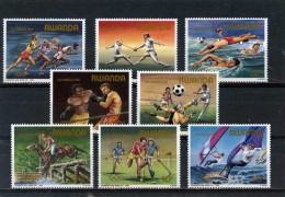 Rwanda**JEUX OLYMPIQUES L.A. 1984-JUMPING-FOOTBALL-HOCKEY-ESCRIME-ATHLETIQUE-BOXE-8vals-Cat 15WindSurf-NATATION-Olympics - Rwanda