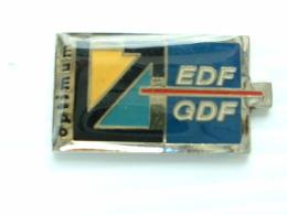PIN´S EDF GDF - OPTIMUM - EDF GDF