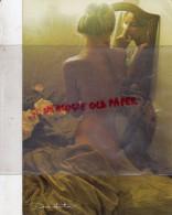 PHOTO CARTE  DAVID HAMILTON - JEUNE FILLE  SEINS NUS- NUDE - Photographs