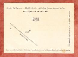Karte, Finanzministerium, Wappen, Blanko, Schwarz, Ungebraucht (45954) - Sonstige