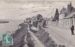 SAINT CYR SUR LOIRE ROUTE NATIONALE D'ANGES A BRIARE  MAISONS BLANCHES CHEMIN DE HALAGE PONT DE LA MOTTE 37 - Saint-Cyr-sur-Loire