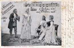 ALTEROCCA - TERNI (fot. Anadone - Novara), Gel.1905, Stempel Starigrad + Sebenico - Theater