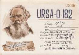 USSR - QSL Karte Gel.1948 - Radio