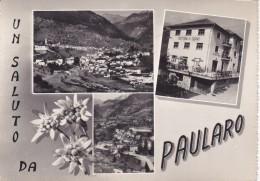 CARD PAULARO SALUTO DA ....VEDUTINE TRATTORIA M. SERNIO(UDINE)   -FG-V-2-  0882-25528 - Udine