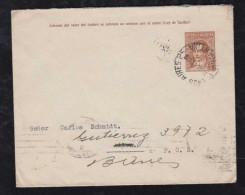 Argentina 1937 Stationery Envelope 5c Buenos Aires To Allen Rio Negro Returned - Argentina