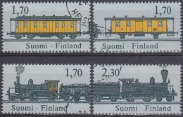 Finlandia 1987 Nº 981/84 Usado - Gebraucht