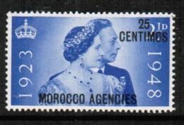 MOROCCO AGENCIES   Scott # 93* VF MINT LH - Morocco Agencies / Tangier (...-1958)