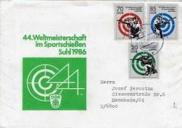 DDR / GDR - Mi-Nr 3045/3047 Umschlag Ecxht Gelaufen / Cover Used (N341) - Lettere