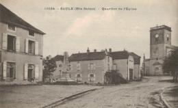 SAULX.Quartier De L'église - France