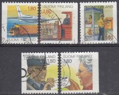 Finlandia 1988 Nº 1003/07 Usado - Gebraucht