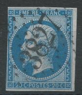 Lot N°31588  N°14B, Oblit Tardive GC 3827 PESMES (69), Ind 4 - 1853-1860 Napoleon III