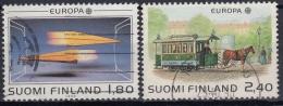 Finlandia 1988 Nº 1015/16 Usado - Gebraucht