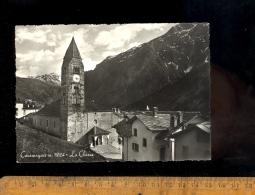 COURMAYEUR : L'église La Chiesa   1961 - Italia