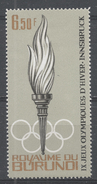 Burundi 1964. Scott #70 (MH) Olympic Games Innsbruck, Torch - Burundi