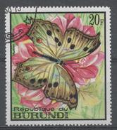 Burundi 1968. Scott #252 (U) Butterfly: Salamis Aethiops - 1962-69: Oblitérés