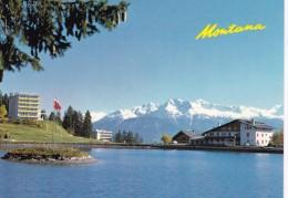 MONTANA (1500 M): Les Hôtels Parc Et Du Lac. Vue Sur Les Alpes - VS Valais