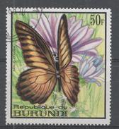 Burundi 1968. Scott #253 (U) Butterfly, Papilio Zonobia, Papillon - 1962-69: Oblitérés