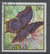 Burundi 1968. Scott #255 (U) Butterfly, Salamis Temora, Papillon - Burundi