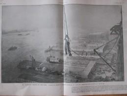 1910 Les Chantiers Aériens De NEW-YORK Gratte-ciel Monteurs De Charpente + PRETORIA Lancashire  Catastrophe  Mine Grisou - Documentos Antiguos