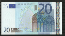 20 EURO SPAIN V M021 UNC TRICHET - EURO