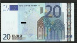 20 EURO SPAIN V M023 UNC TRICHET - EURO