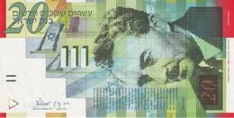 ISRAEL 20 NEW SHEQALIM 2001 P-59b UNC [ IL436b ] - Israel