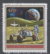 Burundi 1972. Scott #384 (U) Lunar Rover (Apollo 15) - Burundi