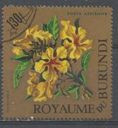Burundi 1966. Scott #C25 (U) Flower, Fleur, Markhamia - Burundi
