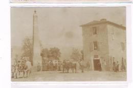 Roma Provincia Montelibretti Fotografica Al Bromuro Rarissima Animatissima 1910 - Roma (Rome)
