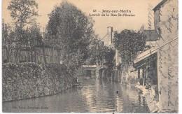 JOUY SUR MORIN - Lavoir De La Rue St Nicaise - France