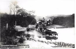 URUGUAY - REMINISCENCIAS CAMPERAS - Série B N° 10 - CARTE PHOTO - Uruguay