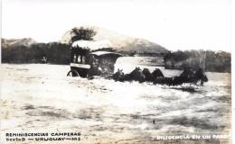 URUGUAY - REMINISCENCIAS CAMPERAS - Série B N° 1 - CARTE PHOTO - Uruguay