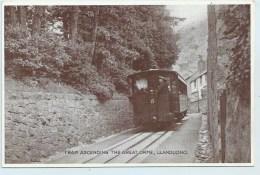Tram Ascending The Great Orme, LLandudno - Caernarvonshire