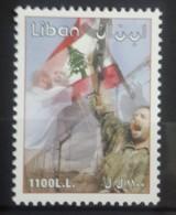 Lebanon 2001 Mi. 1405 MNH Stamp - 1st Anniv Of The Liberation Of The South - Flag - Libanon