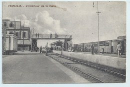 Ismailia - L'Interieur De La Gare - Ismailia