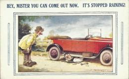 "Bamforth & Co. ""Auto Comics Series"" Postcard - No. 1325 ´Hey, Mister  ...´ - Unused - W 501 - Humour"