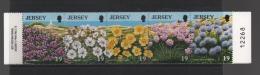JERSEY  (1998)  N° 696/705  ** - Cote  2.20 € - Végétaux