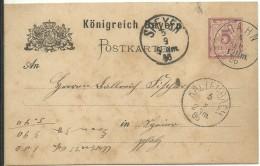 STATIONERY  1896 DAHN - Alemania