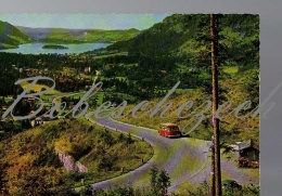 5-139 GERMANY Cca 1965 Bus + Spitzingstrasse Gegen Schliersee - Foto Hans Huber , Garmisch-Partenkirchen Nr. 8127 - Buses & Coaches