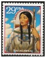 Stati Uniti/États-Unis/United States: Sacagawea (Bird-woman) - American Indians