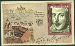 Uruguay 2016 ** HB 400 AÑOS WILLIAM SHAKESPEARE. See Desc. - Scrittori