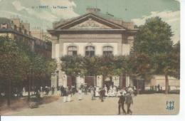 37 - BREST - LE THEATRE ( Animées ) - Brest
