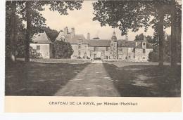 CPA Ménéac Château De La Riaye Par 56 Morbihan - France