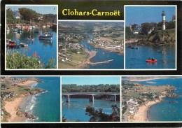 CPSM Clohars Carnoët-Le Port De Doëlan,les Plages Du Pouldu      L2144 - Clohars-Carnoët