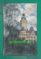 Alte Sachsen Künstler AK 04103 Leipzig 1906 !!!  Neues Rathaus - Leipzig